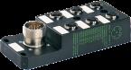 M12 distributore 6 vie, 5 poli, senza LED, CNOMO