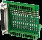 adattatore di misura con LED e Sub-D 25