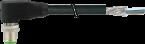 M12 MALE 90° SHIELDED
