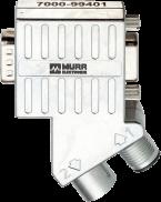 M12/D-Sub adattatore Profibus 35°