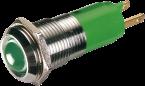segnalatore LED verde
