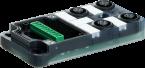 Exact12 4xM12, 4 poli, base PNP-LED