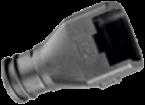 Guscio DT, 4 pin, 0°, porte 12 mm