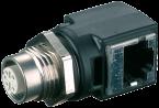 M12-RJ45 Ethernet adattatore
