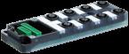Exact12 8xM12 4 poli base PNP-LED