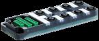 Exact12 8xM12 5 poli base PNP-LED