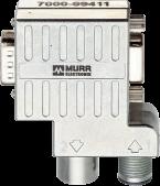 M12/D-Sub adattatore Profibus 90°