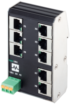 Xenterra 8TX switch unman. 8 porte 100Mbit