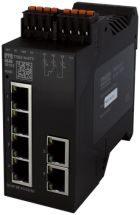 switch managed PN 6x10/100BT IP20