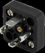 base a innesto per connettore 18mm, 3+PE