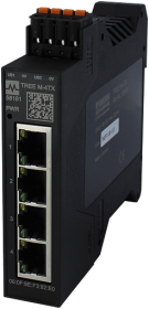PN managed Switch 4x10/100BT IP20 plas RJ45