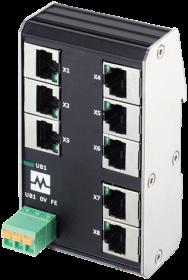 Xenterra 8TX unmanaged Switch 8 Port 100Mbit WM
