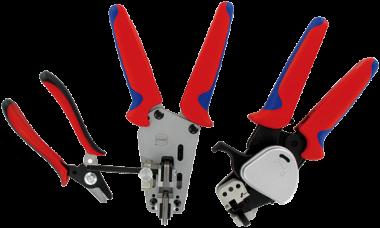 PushPull utensile assem. polimeri f.ottiche