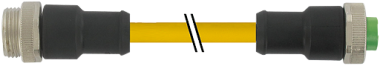 Mini (7/8) 5 poli, mas. (Ext.) 0°/fem 0°