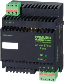Picco alim. switching monofase 24VDC/2.5A
