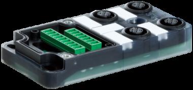 Exact12 4xM12 5 poli base NPN-LED