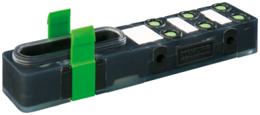 Exact8 6xM8 3 poli base NPN-LED
