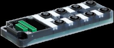 Exact12 8xM12 4 poli base senza LED