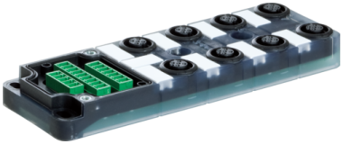 Exact12 8xM12 5 poli base senza LED