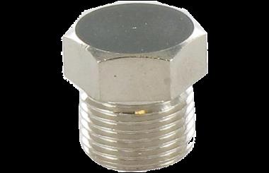 connettore a vite M12 acciaio inox