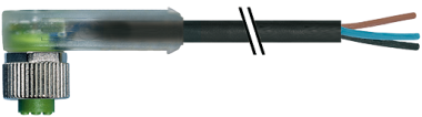 M12 fem. 90° RPP