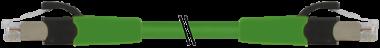 RJ45 mas.0°/RJ45 mas.0°Cabinet-Line Gigabit