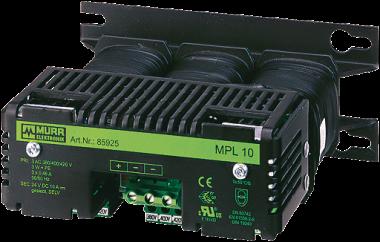 MPL alimentatore trifase, filtrato