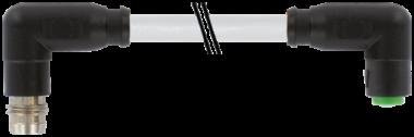 M8 spina angol. / M8 presa  angol. snap-in