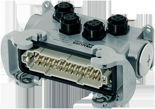 distributore di potenza PD4 7/8'' 4 poli