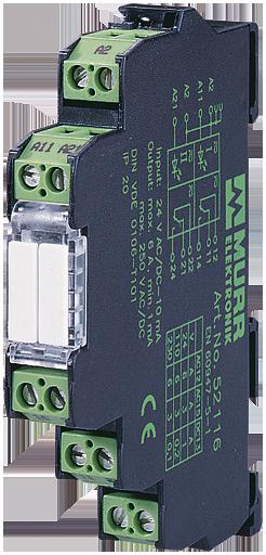 MIRO convert. di temp. PT100 a 2/3 fili