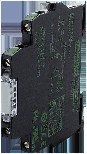 MIRO TR  5VDC mod. optoaccopp. mors. vite