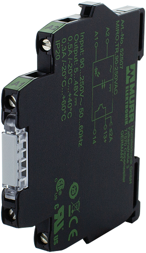 MIRO TR 90-250VAC modulo optoaccoppiatore