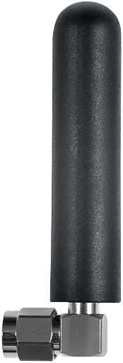 Omnidirectional antenna 90°, Port: SMA male connector