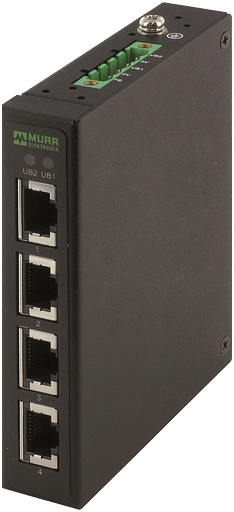 Tree 4TX metallico Unmanaged Switch 4 vie