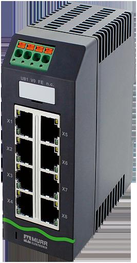Xelity 8TX Unmanaged Switch 8 porte 100Mbit