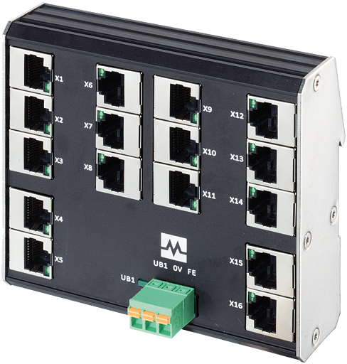 Xenterra 16TX switch unmanaged 16 porte 100Mbit