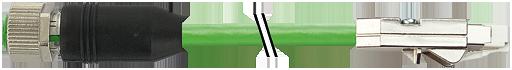 Drive Cliq IP20/M12 fem.0° schermato Y-code