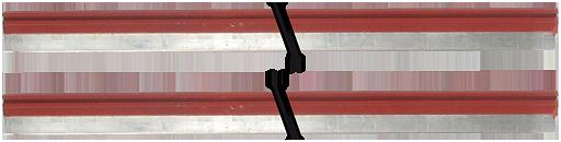 Mico Pro barra equipotenziale rossa