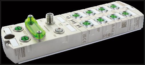Managed Switch 8x10/100BT 2x10/100/1000BT IP67 Metal M12