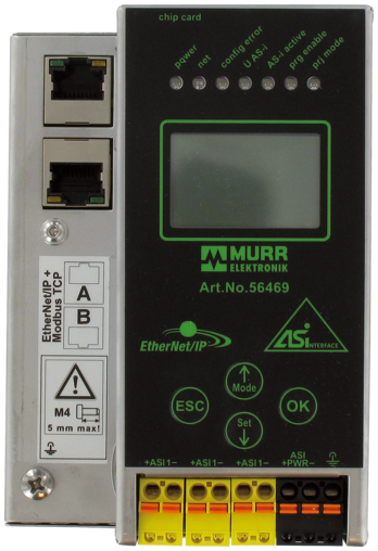 Gateway PN/AS-i (1 Master) Spec.3.0 Power24