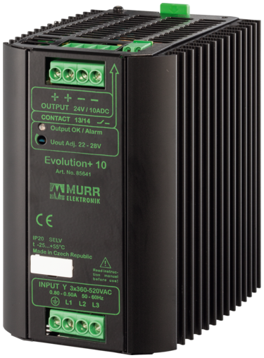 Evolution alim. switching trifase 48VDC/5A