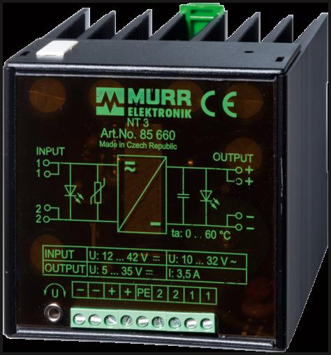 NT 3 AC-convertitore DC/DC, regol. lineare
