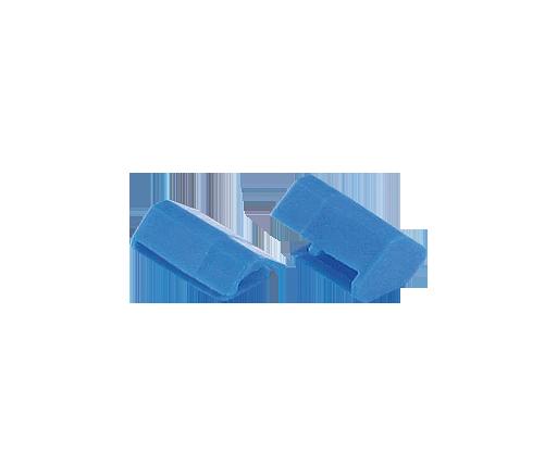 tappo di chiusura barra di potenziale blu