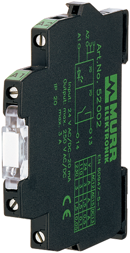 MIRO tTR 24/24VDC 10A mod. optoacc. m. vite