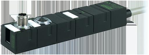 CUBE67 DI16/DO16 espansione con cavo 0,5A