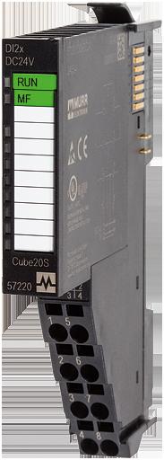 Cube20S AI2*16 Bit U -10…+10V