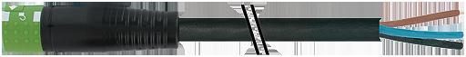 MQ15-X-Power fem. 0° con cavo