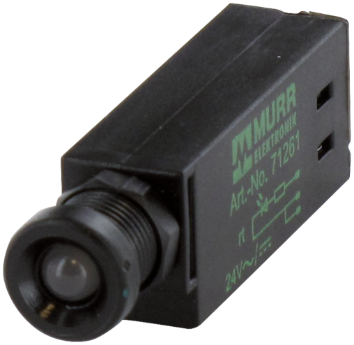 segnalatore LED OPAC / verde